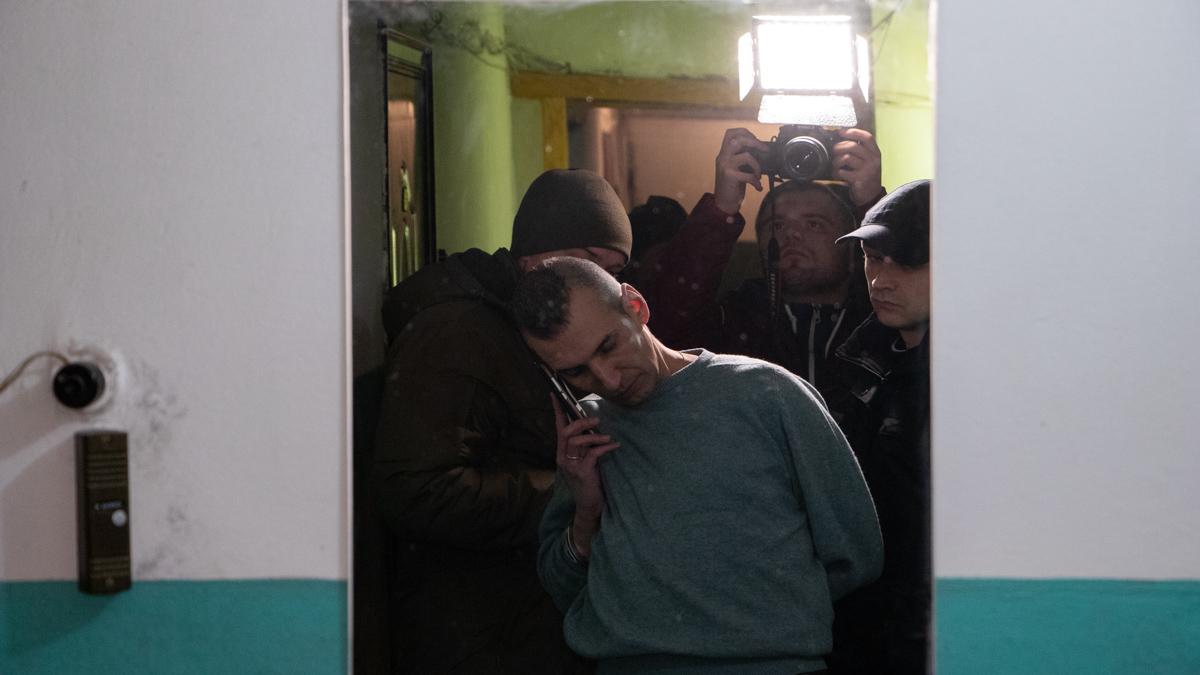 В Киеве мужчина просил полицейского застрелить его