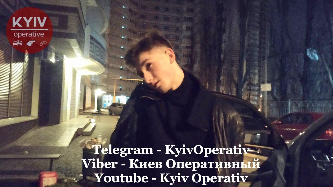 18-летний гонщик устроил ночные гонки по Киеву от полиции