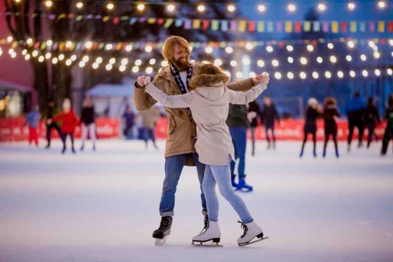 В трех районах Киева будут открыты ледовые катки