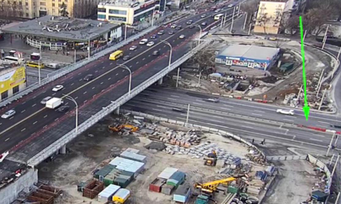 Возле Шулявского моста закрыли перекресток