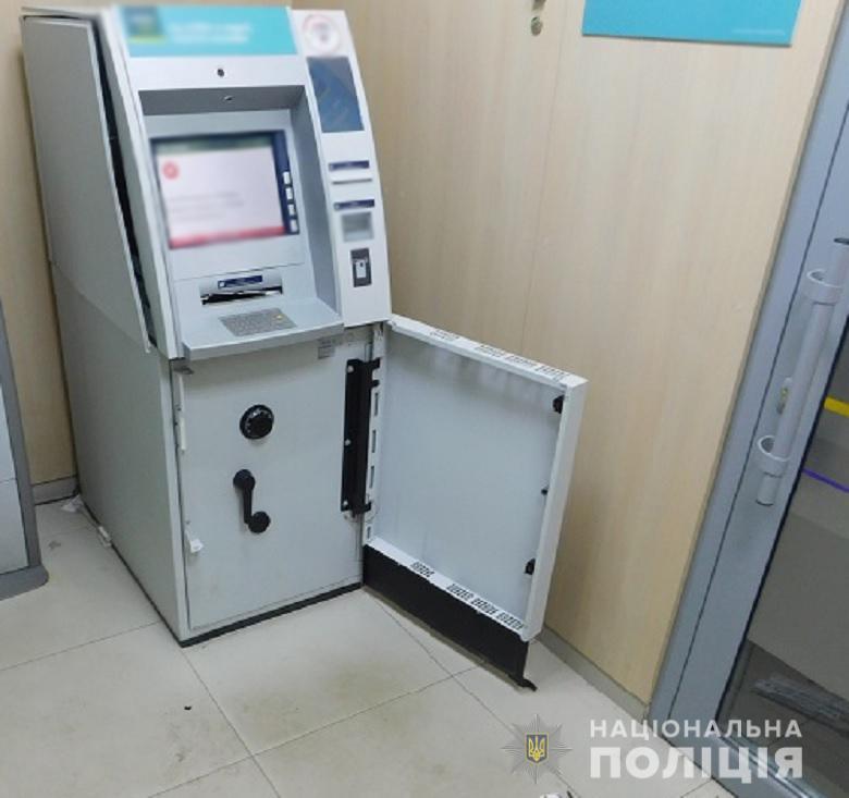 """На Троещине в отделении """"Ощадбанка"""" взорвали банкомат"""