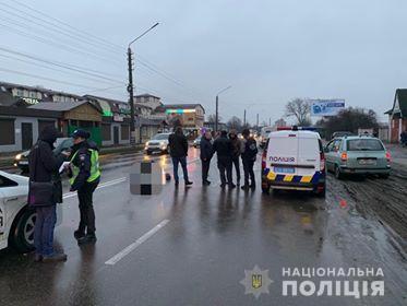 За Киевом полицейские насмерть сбили мужчину