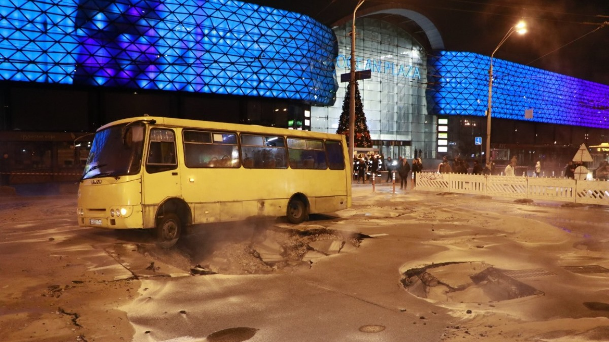 Киевская полиция начала уголовное дело по факту масштабной аварии в Киеве