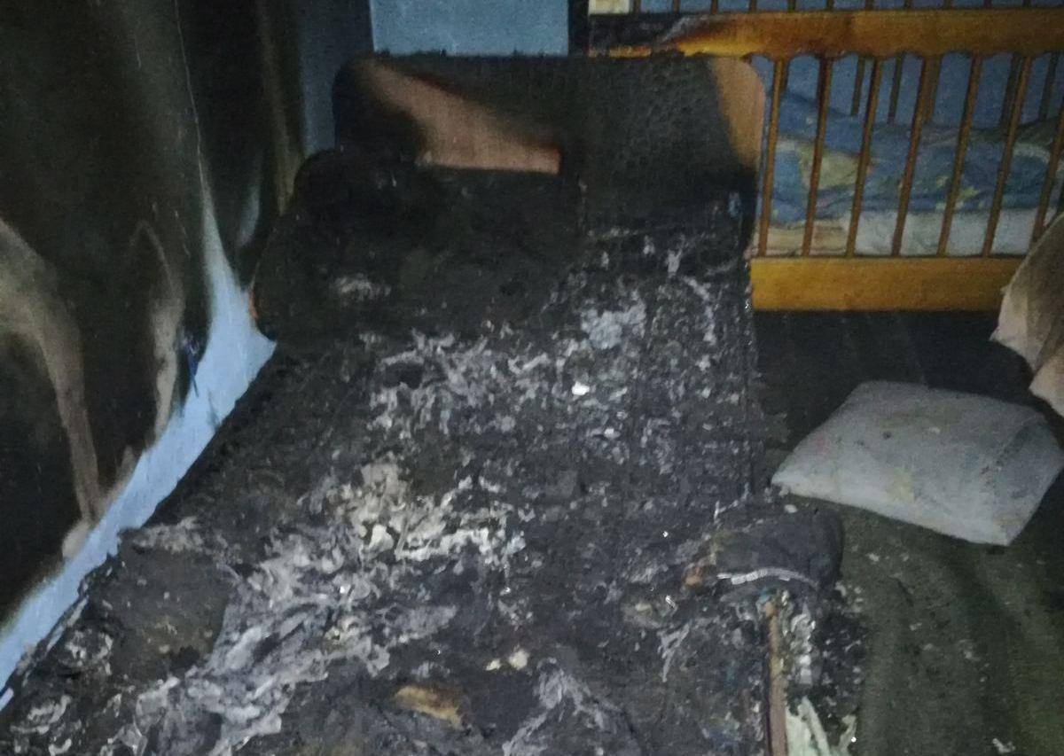 На Киевщине отец-курильщик убил своих детей и погиб сам