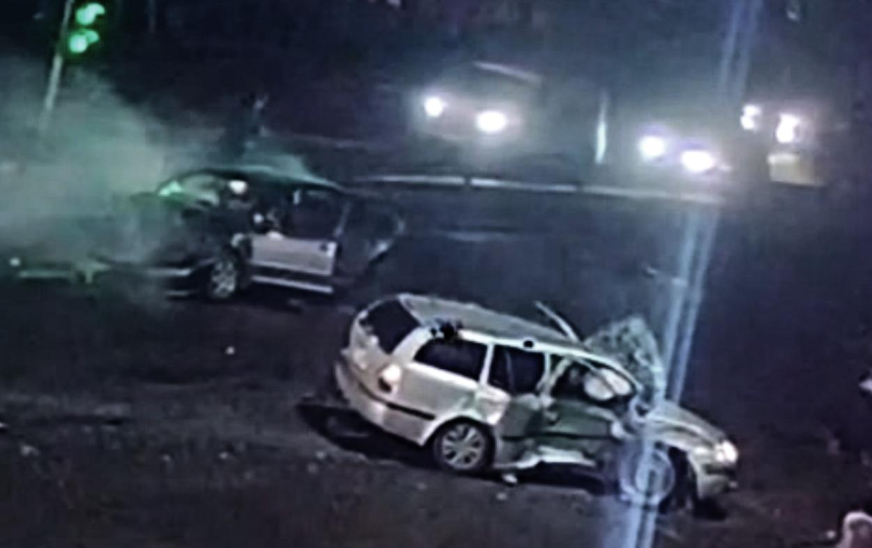 Жуткая авария под Киевом: водитель не смог проехать перекресток