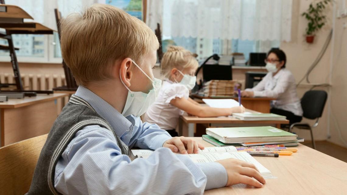 В Киеве два десятка школ закрылись на карантин