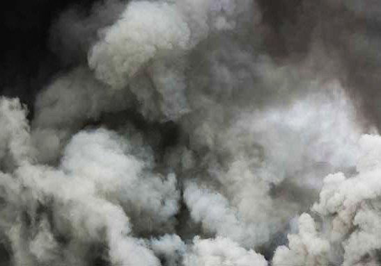 Киевлянин устроил пожар в супермаркете. Есть пострадавшие