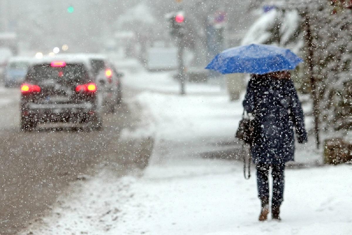 """Синоптики предупредили киевлян о надвигающемся """"снежном буране"""""""