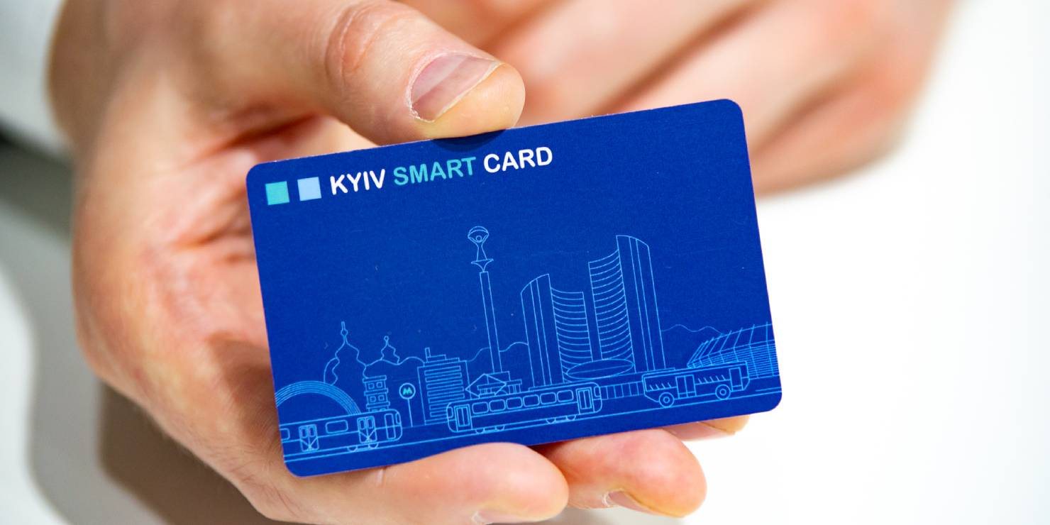 Купить Kyiv Smart Card можно на 24 станциях столичного метро