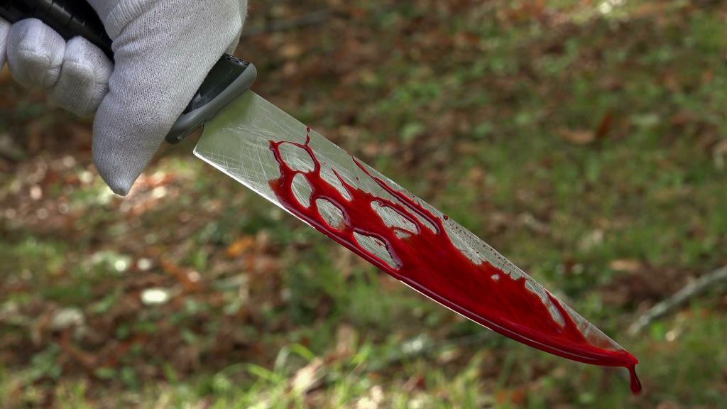 Под Киевом женщина убила своего мужа и пыталась убить себя