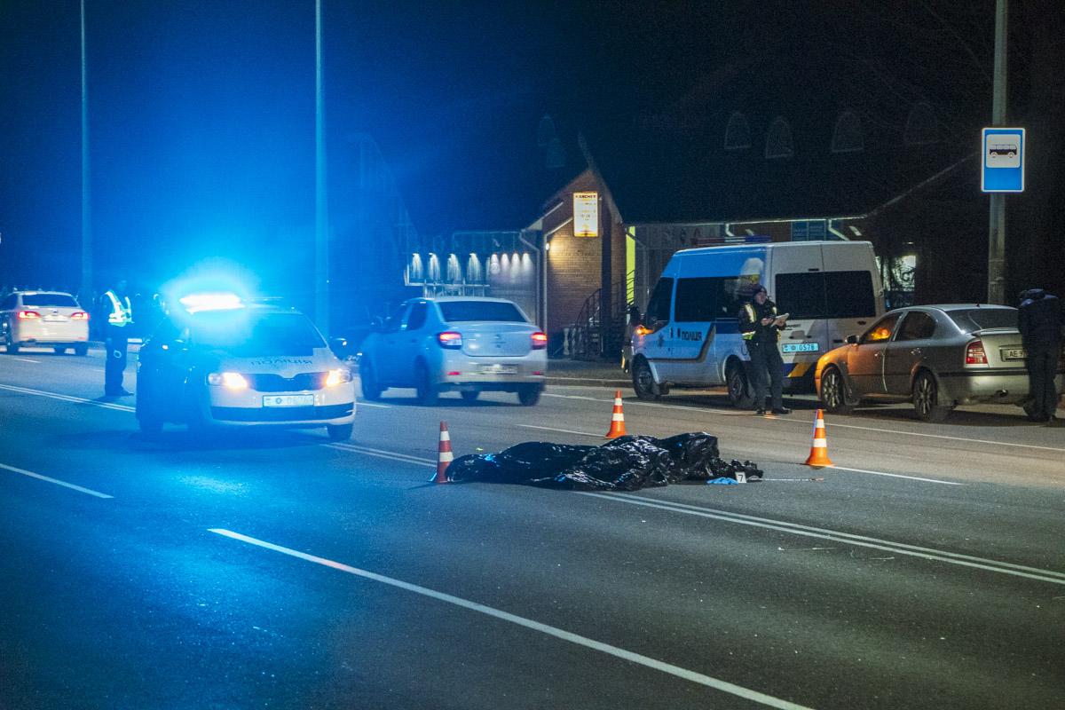 Под Киевом пьяный полицейский убил пешехода