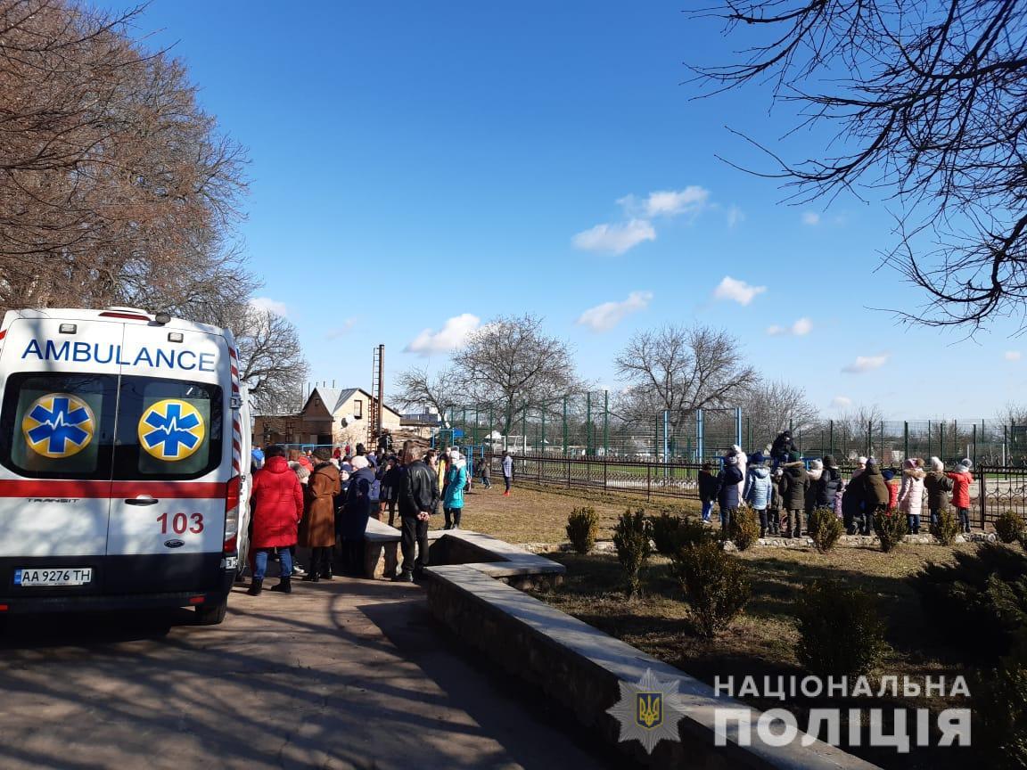 """В полиции сообщили, кто устроил """"газовый террор"""" в школе под Киевом"""