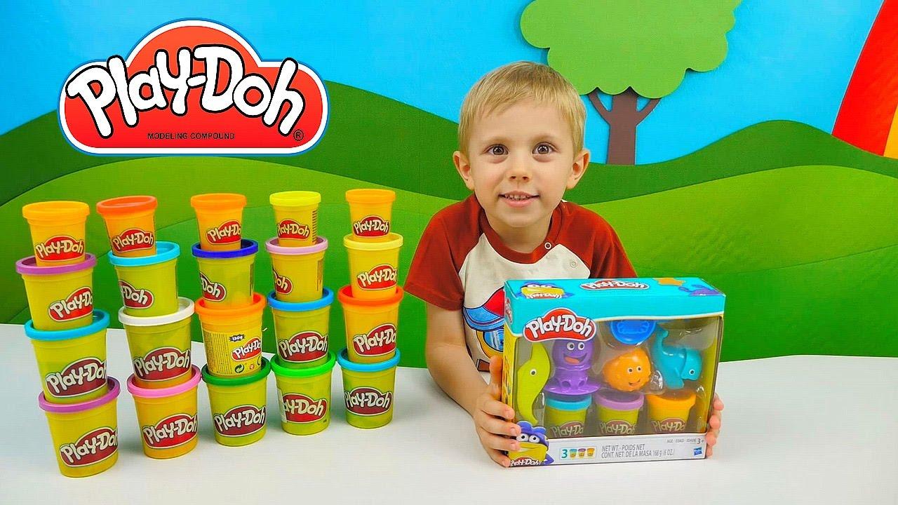 Пластилин плей до: подзабытая детская забава для развития творчества