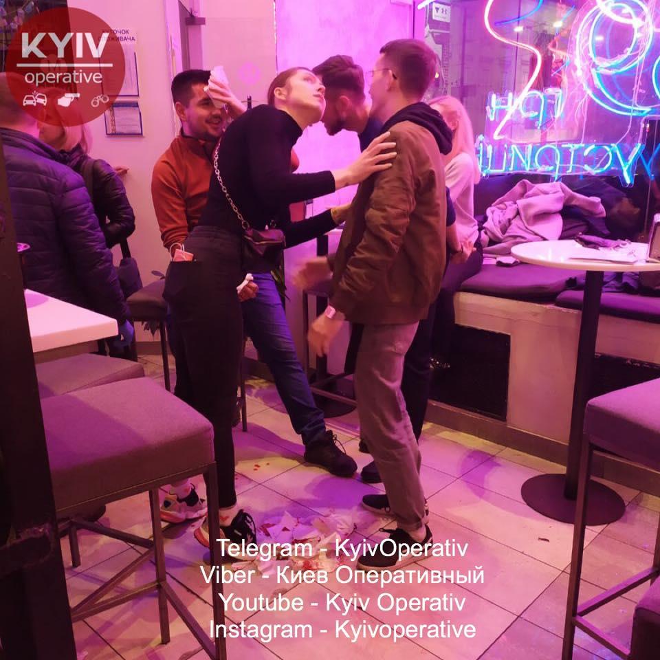 """В киевском ресторане """"Мушля"""" произошел несчастный случай"""