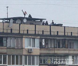 Танцы на крыше дома: под Киевом подростки экстремально отметили 8 марта