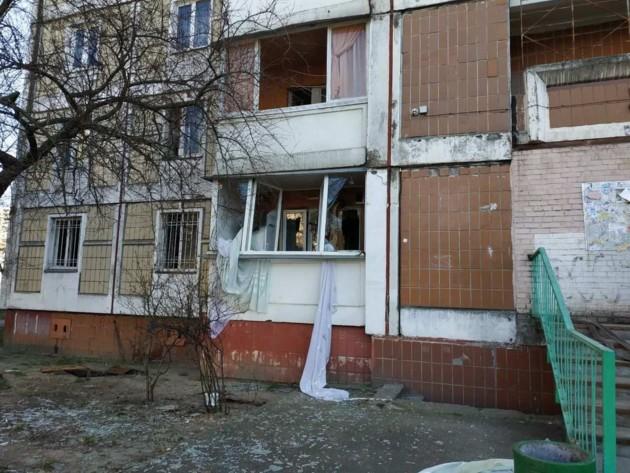 В жилом доме на Троещине прогремел мощный взрыв