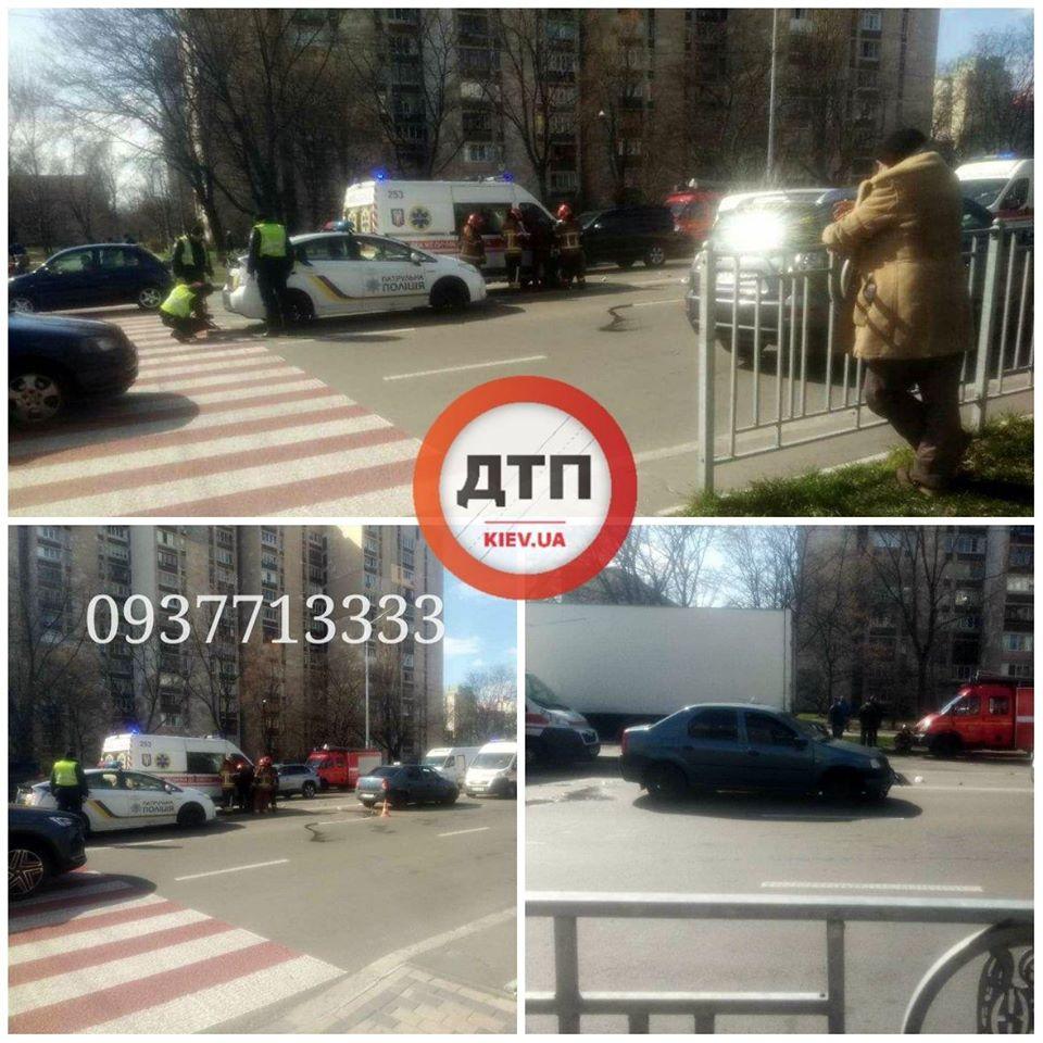 Жуткое ДТП в Киеве - таксист сбил малыша на переходе и протащил несколько метров