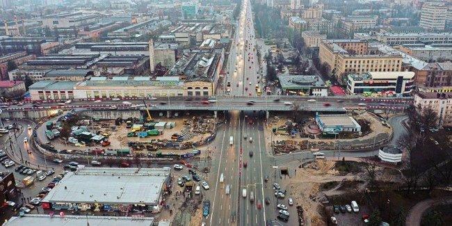 С Шулявского моста уже можно съезжать на проспект Победы
