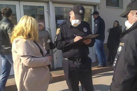 Правоохранители наказали 64 киевлян за нарушение правил карантина