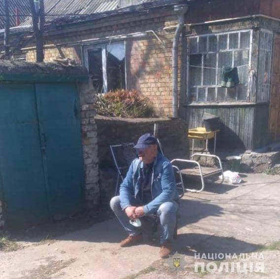 Под Киевом наглый вор ограбил дом своего беспомощного односельчанина