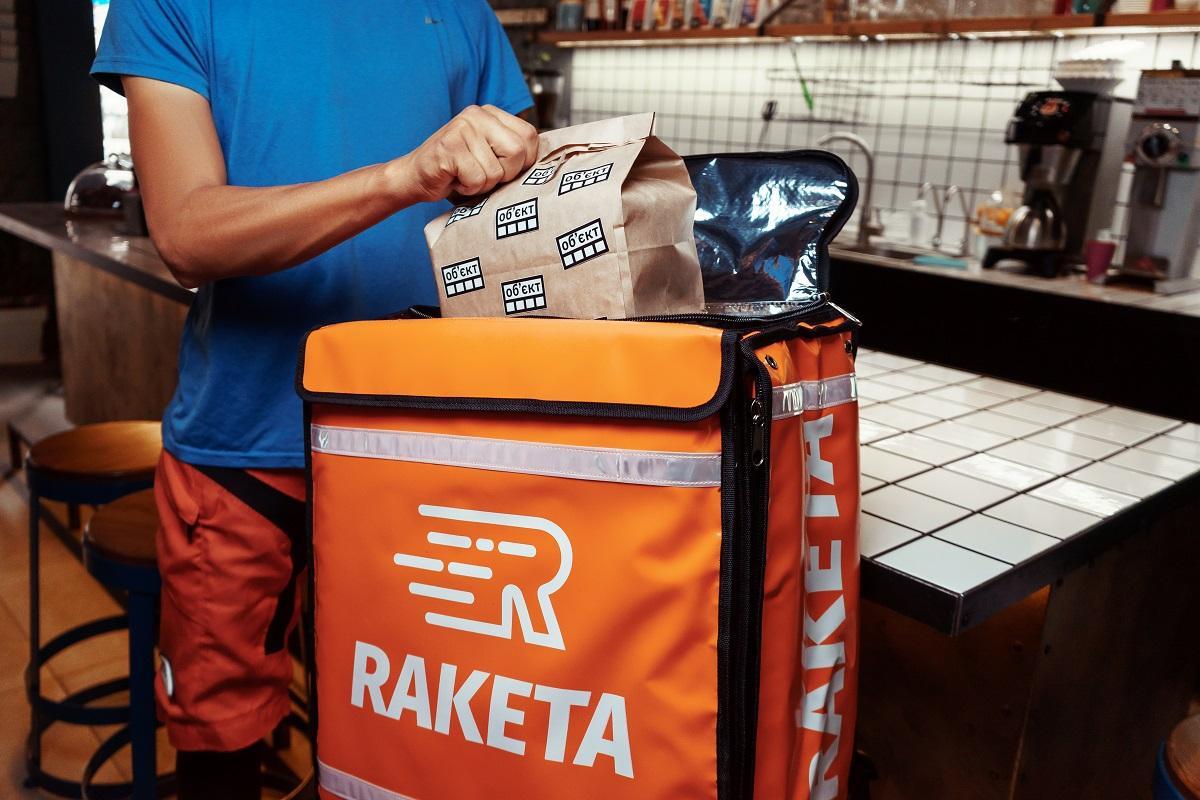 В Киеве Raketa начала доставлять продукты из супермаркетов
