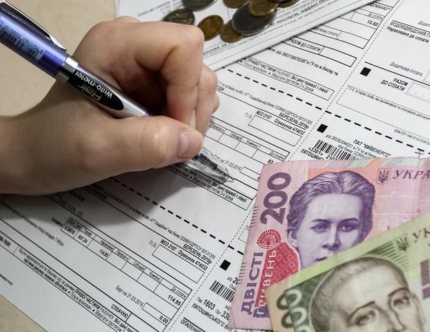 Киевляне задолжали 6 млрд гривен за коммуналку