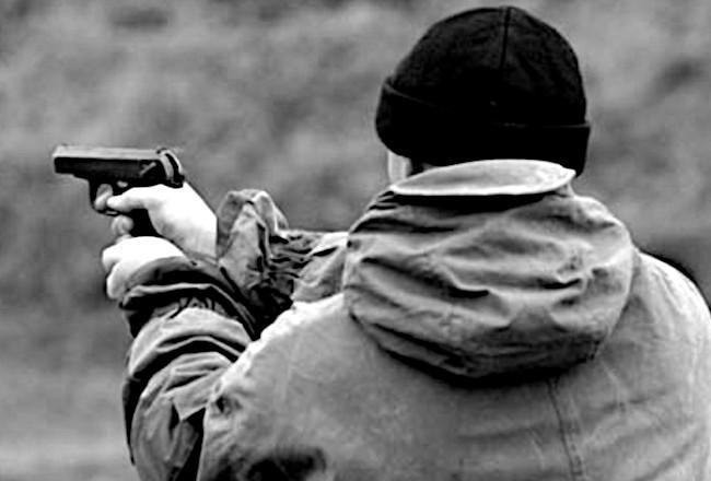Под Киевом мужчину застрелили в голову возле собственного гаража