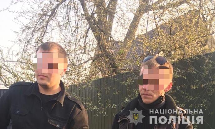 Полиция задержала двух мотоциклистов, устроивших пожар на берегу реки под Киевом