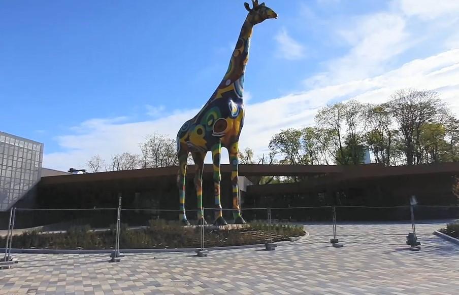В киевском зоопарке убрали центральный вход
