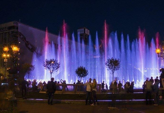 Из-за карантина в Киеве перенесли запуск фонтанов