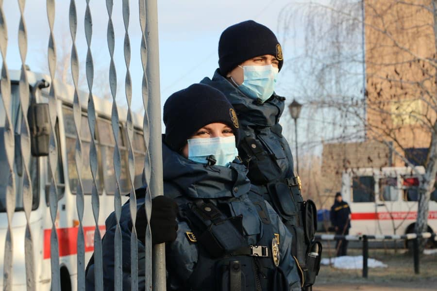 Киевлянина оштрафовали на 17 000 за прогулку в Гидропарке