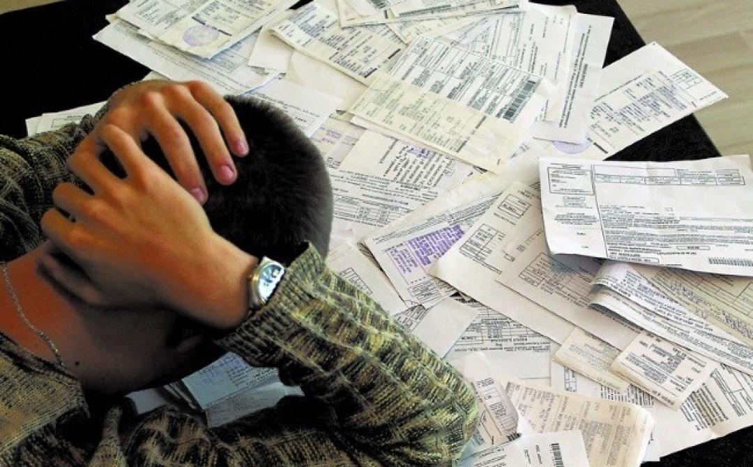 Киевляне фактически перестали платить за коммунальные услуги, создав долг почти 6 млрд грн