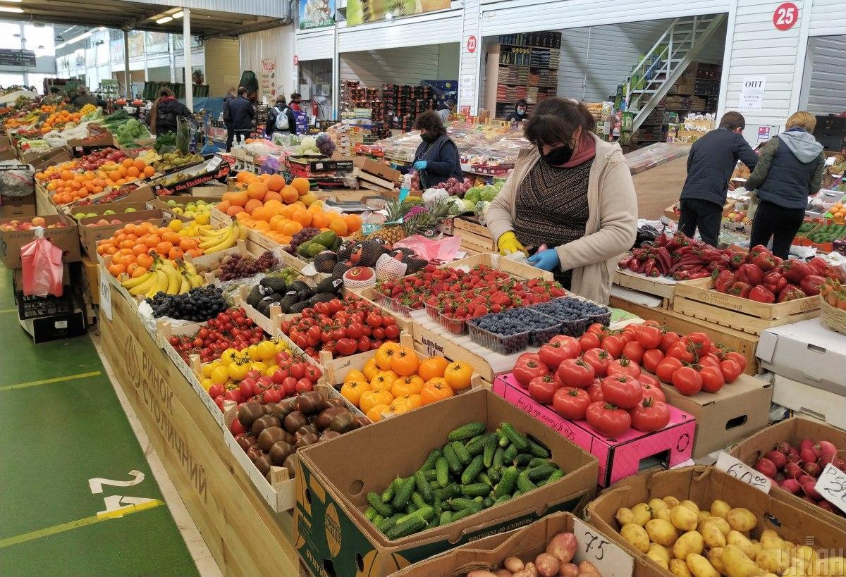 Ни один из агропромышленных рынков Киева не в состоянии обеспечить безопасность в условиях карантина