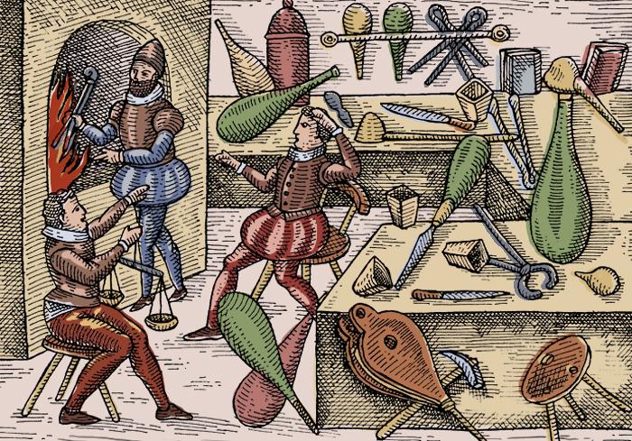 Книги по алхимии: философское описание древней науки или «ловкость рук»