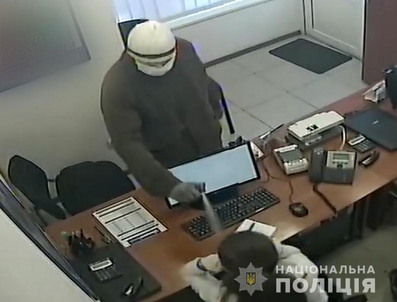 В Киеве россиянин грабил аптеки и кредитные учреждения