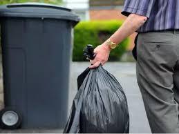 Сельсовет Киевщины накажет водителя грузовика, выбросившего мусор в чистом поле
