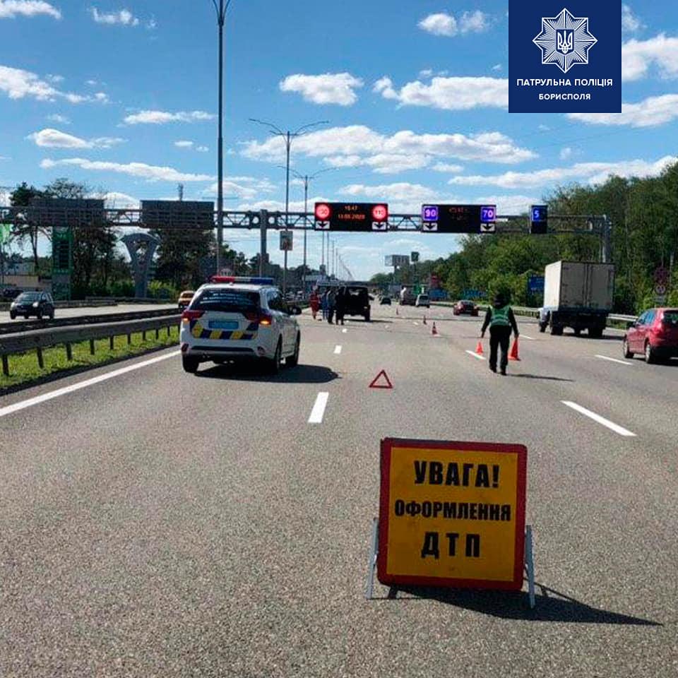 Под Киевом молодая девушка насмерть сбила пешехода