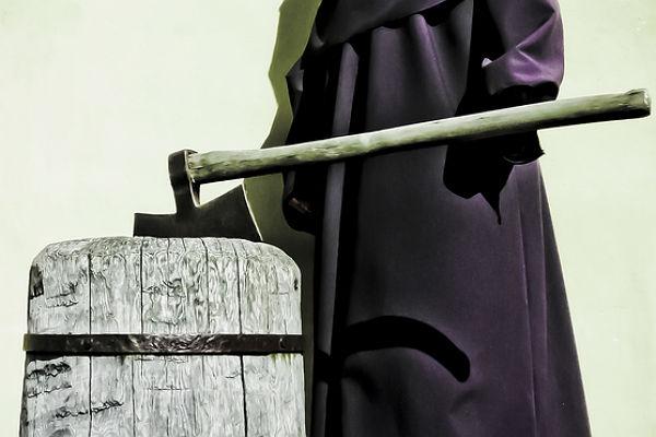 На Киевщине мужчина отрубил своей матери голову