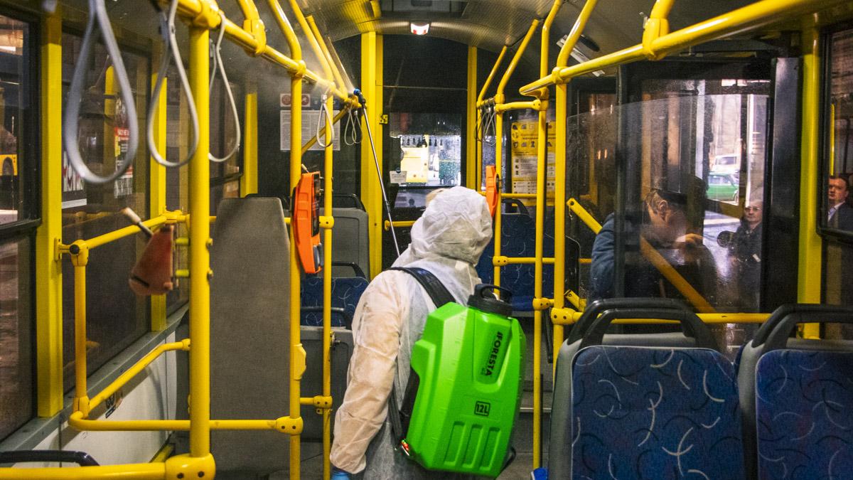 Стало известно, по каким правилам будет работать транспорт в Киеве