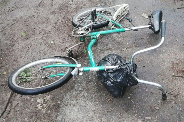 На Киевщине водитель маршрутки сбил пожилого велосипедиста