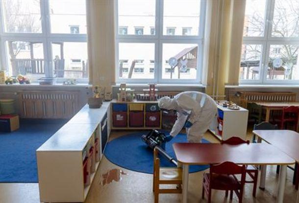 В детском садике под Киевом воспитательница заболела коронавирусом