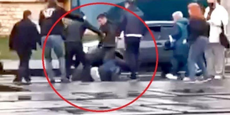 В Киеве пассажиры жестоко избили водителя трамвая