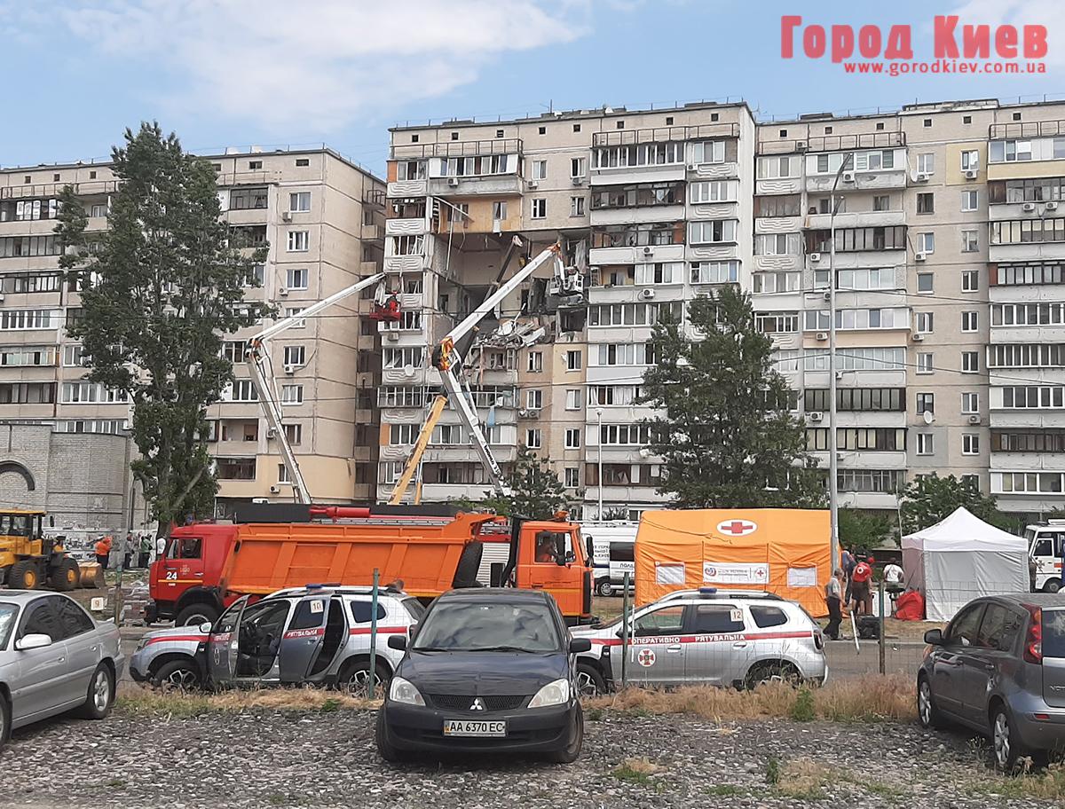 Кличко рассказал, что будет со взорванным домом на Позняках и его жильцами