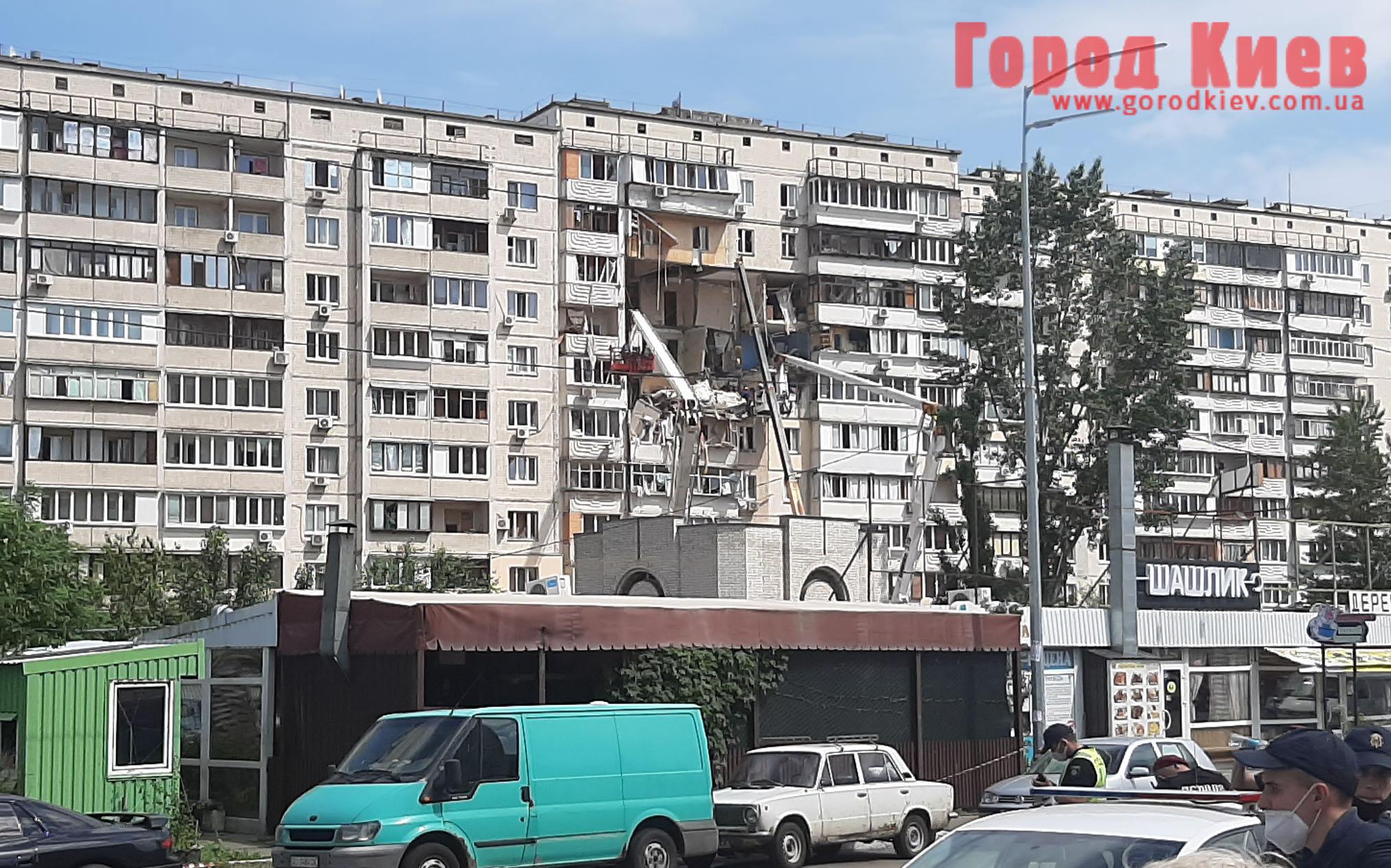 Пострадавшим от взрыва дома на Позняках дадут деньги