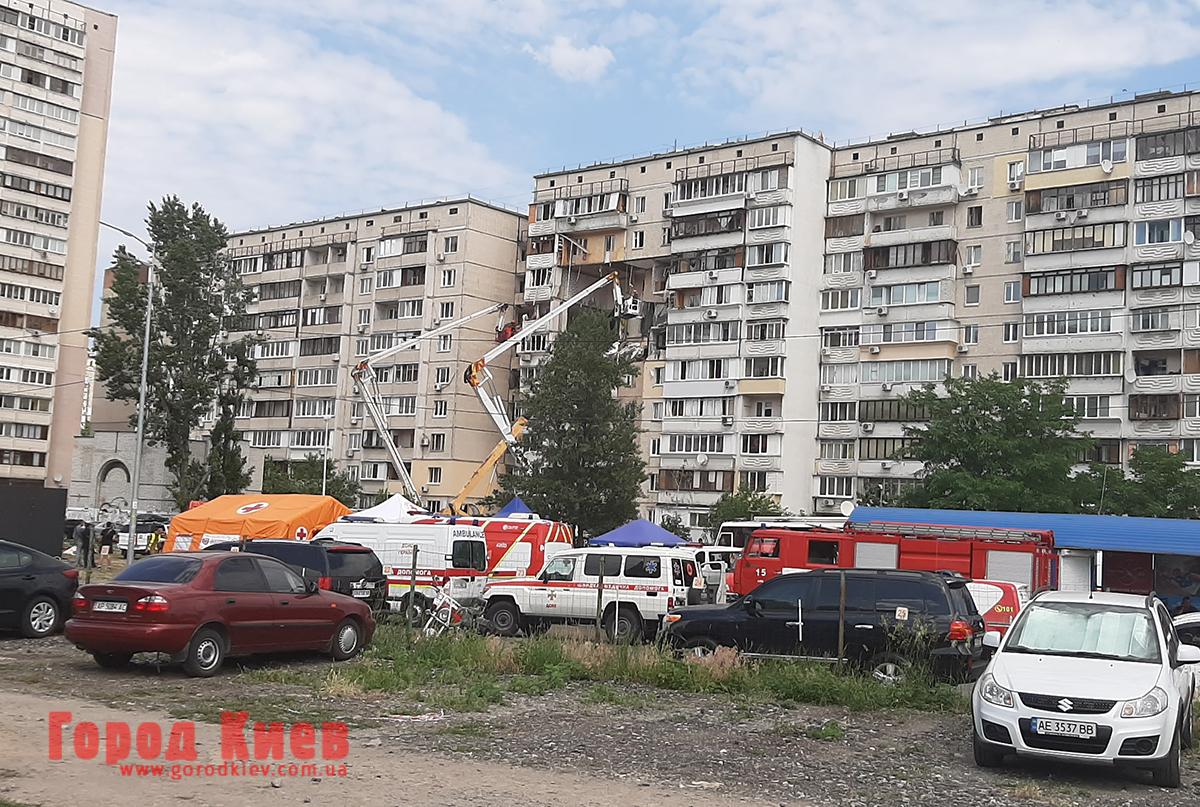 Кличко пообещал помочь всем, кто пострадал в результате взрыва дома