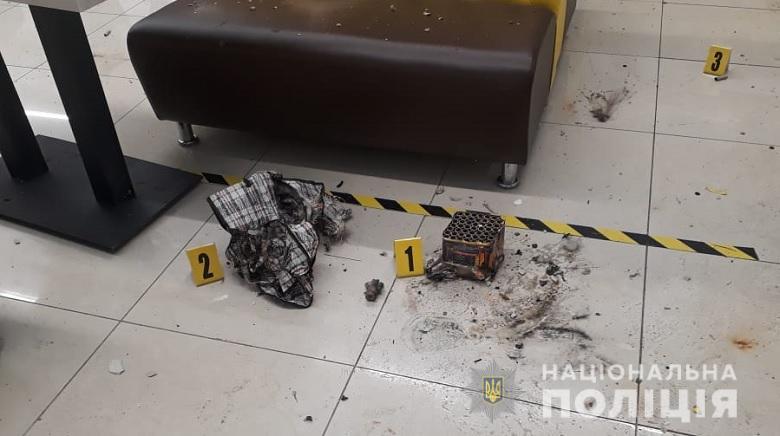 В киевском кафе под столом взорвался салют
