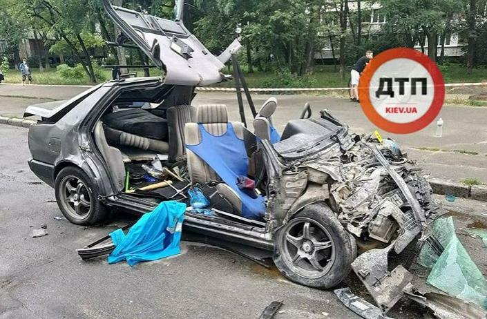 На Лесном массиве в Киеве случилось страшное ДТП