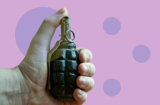 На Киевщине мужчина, поссорившись с женой, взорвал себя гранатой
