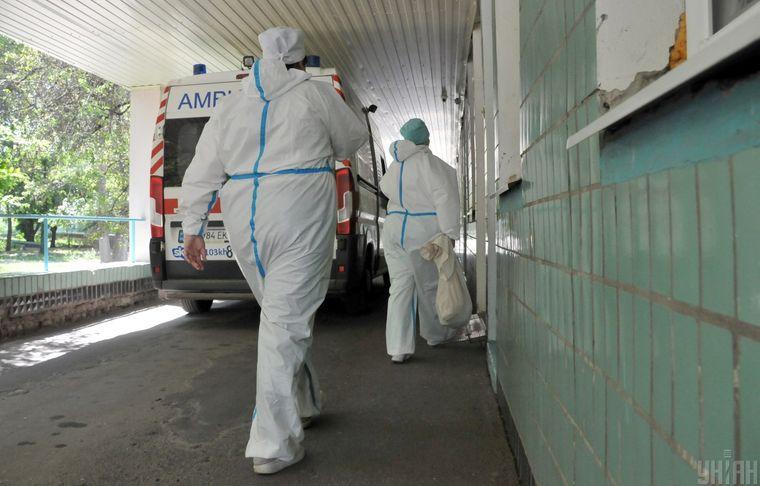Киевские больницы заполнены уже на 54% пациентами с COVID-19