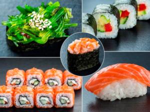 Суші: основні продукти для приготування